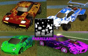 PARALLAX CAR DECAL