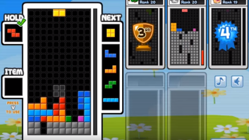 arena mode play tetris with friends