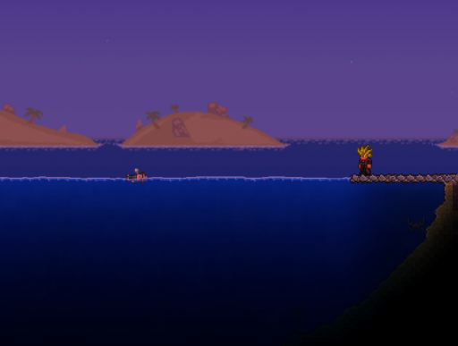 sleeping terraria angler quests found in ocean biome