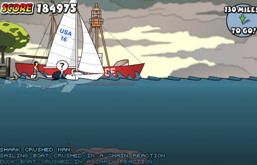 new york shark flash game
