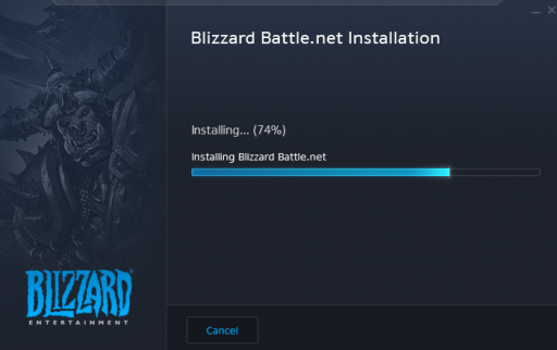 install battle net launcher