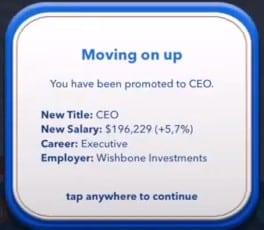 CEO promotion Bitlife
