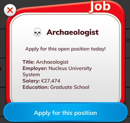 bit archaeologist job application