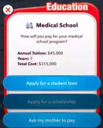 bitlife pilot scholarship