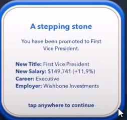 first vice president bitlife promotion