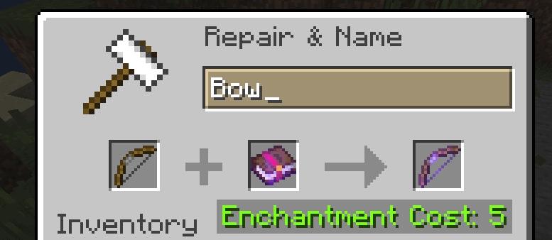 minecraft bow power v enchantment
